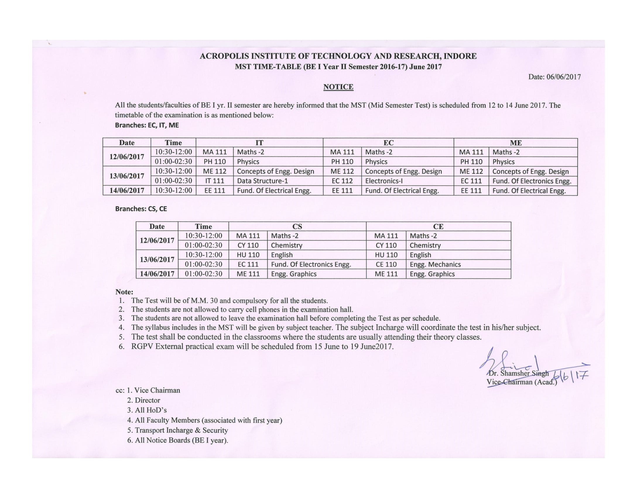 mst time table-1