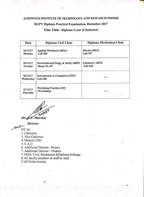 Notice (Time Table Diploma Exam)_001